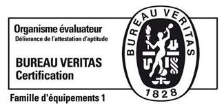 Bureau Veritas Certification - Famille d'équipements 1