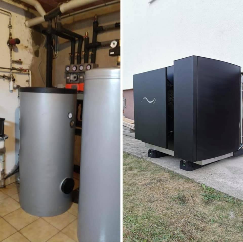 pompe à chaleur triphasé au propane R290 gwp 0 , puissance 20 kw triphasé bi compresseur made in France garantie 10 ans